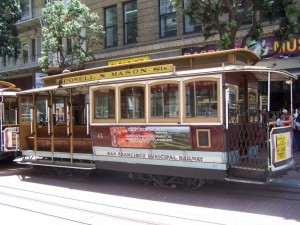 San Francisco Powell Street Cable Car (#506)