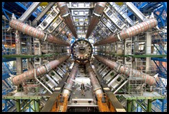 Atlas LHC Experiment  Photo produced by CERN